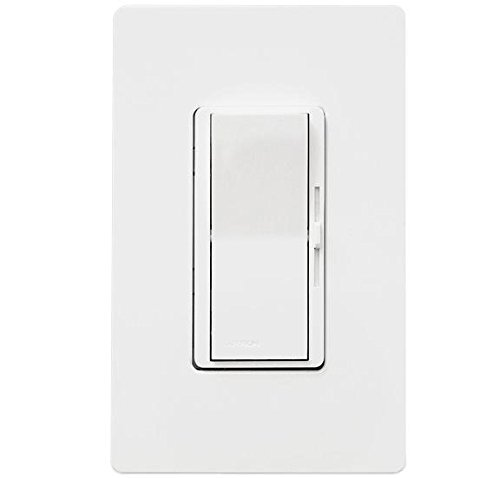 Lutron DVFSQ-F-WH Fan Control, Decora, 3-Speed, 1.5A, 120V, White