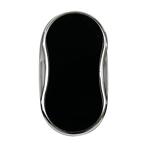虫眼鏡 ルーペ LEDライト付き スイングルーペ [ポケットルーペ] 無地 3.5倍 37mm スライドルーペ 黒