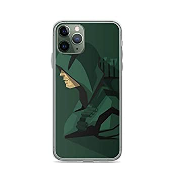 Phone Case Green Arrow Cw - Oliver Queen - Stephen Amell Compatible with iPhone 6 6s 7 8 X Xs Xr 11 12 Pro Max Mini Se 2020 Shock Absorption