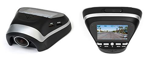 Black Box B60 Dash Camera - Full HD 1080P Compact Mini Video Car DVR - 170° Super Wide Angle 6G Lens with G-Sensor, WDR Night Vision, Motion Detection (64GB Capacity)