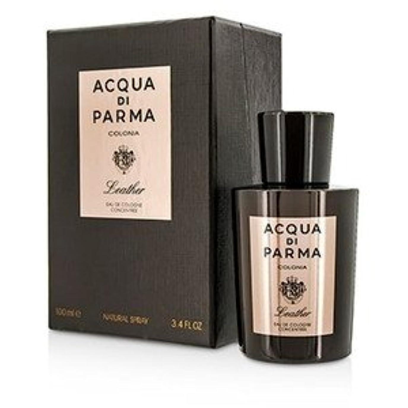 思い出す誤って欺くアクア ディ パルマ[Acqua Di Parma] コロニア レザー オーデコロン コンセントレート スプレー 100ml/3.4oz [並行輸入品]