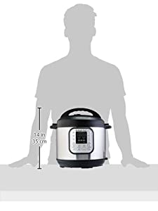 Instant Pot Duo 7-in-1 Electric Pressure Cooker, Slow Cooker, Rice Cooker, Steamer, Saute, Yogurt Maker, and Warmer, 6 Quart, 14 One-Touch Programs #3