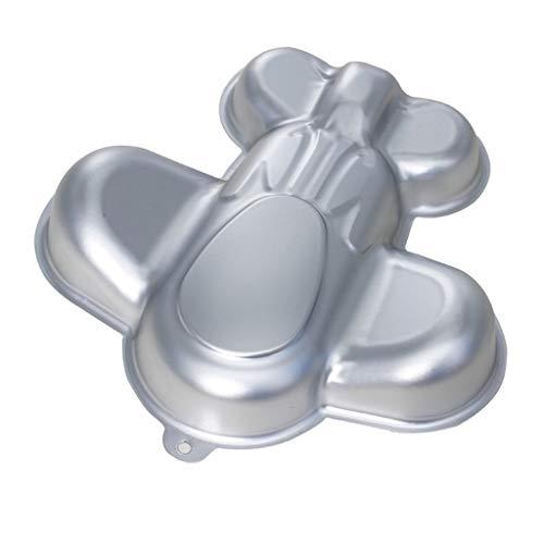 Viesky 3D-Form für Kuchen, Flugzeug-Form, aus Aluminium