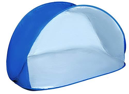 ISO TRADE Wurfzelt POP up UV Filter 150 x 100 x 80 Strandmuschel Camping Zelt Neu 1948