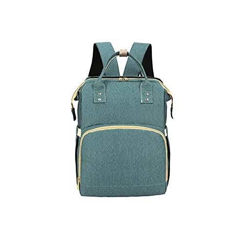 Nuova borsa per mamma e bambino, zaino multifunzionale, gita, borsa madre e bambino, può appendere passeggino, borsa madre e bambino, borsa pieghevole e portatile per culla