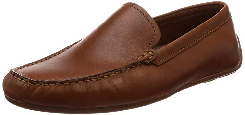Clarks Herren Reazor Edge Mokassin, Braun (Tan Leather), 40 EU