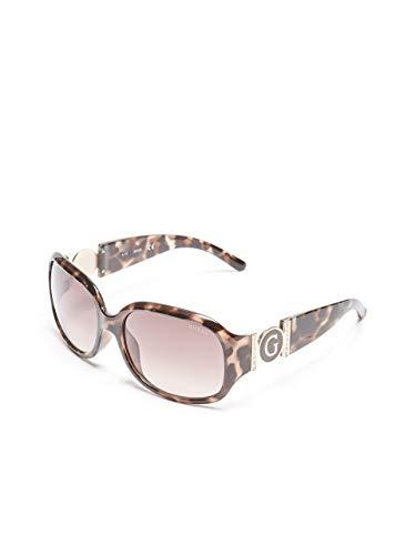 GUESS Factory Women's Cutout Logo Plastic Sunglasses Maryland