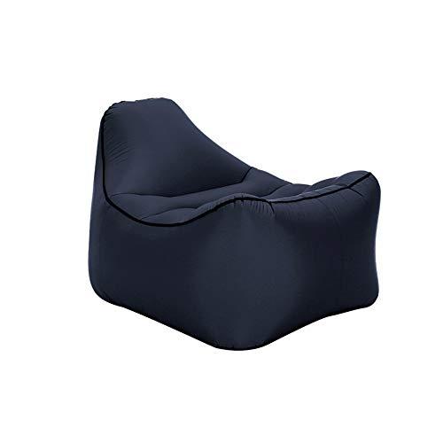 ARIESDY Sofá inflable, bolsa impermeable tumbona de aire impermeable sofá inflable al aire libre sofá sofá sofá sofá de aire para camping