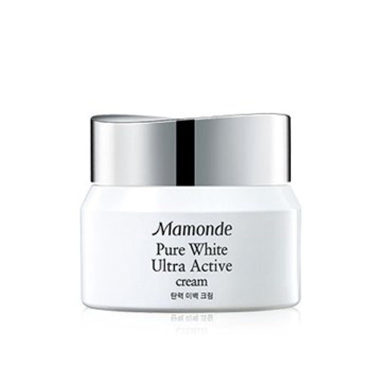 肩をすくめるオーク見る人Mamonde Pure White Ultra Active Cream 50ml/マモンド ピュア ホワイト ウルトラ アクティブ クリーム 50ml [並行輸入品]