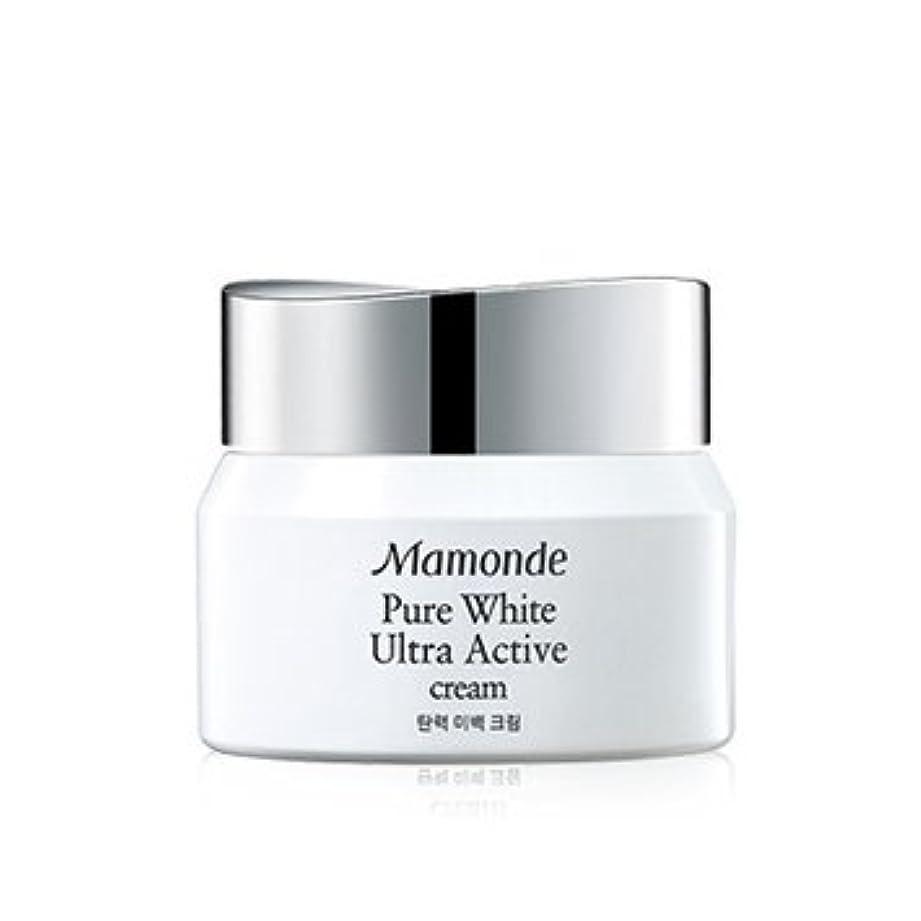 成り立つやさしく責任者Mamonde Pure White Ultra Active Cream 50ml/マモンド ピュア ホワイト ウルトラ アクティブ クリーム 50ml [並行輸入品]