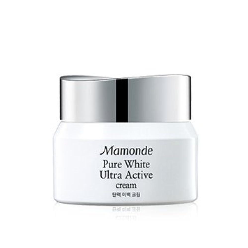 パリティ支出翻訳者Mamonde Pure White Ultra Active Cream 50ml/マモンド ピュア ホワイト ウルトラ アクティブ クリーム 50ml [並行輸入品]