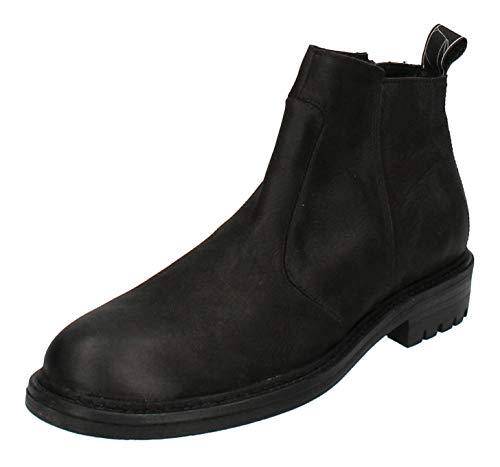 haghe by HUB Herrenschuhe - Boots Campo N82 - Black, Größe:45 EU