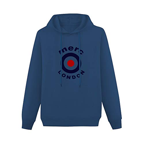 Adong Mens CottonHoodies Maglia Maniche Corte Merc Bianca Men Jimmy S with Merc Lond Hip Hop Pullover with GraphicHoodie