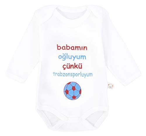 Trabzonspor Taraftar Bebek Badi Baby Body Trabzon Tulum Fanatik Babamin Ogluyum (74)