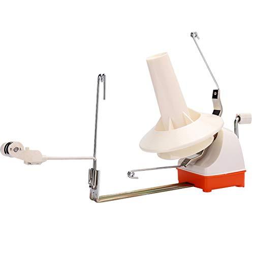 Pequeño y ligero, enrollador de hilo, se puede sujetar a la mesa,