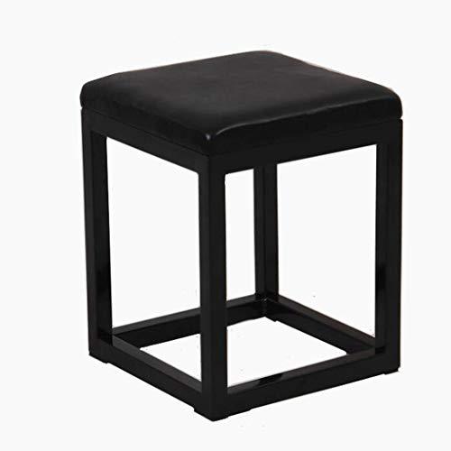 Opbergkruk voor bank, kruk en bedkruk, eenvoudig – kruk om aan te trekken, vierkante kruk van smeedijzer.