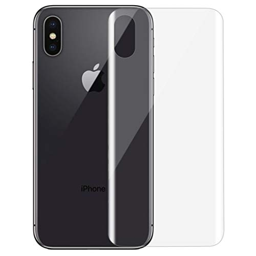 un known For iPhone X 0.1mm HD 3D Curved PET Back Full Screen Protector Accessory Same Parts From Original Factory (SKU : Ipxg0017a)