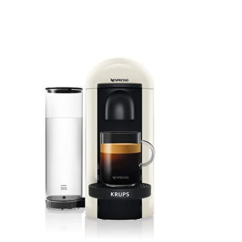Krups Nespresso Vertuo Plus XN9031 - Macchina per Espresso, Capsule Vertuo System, Bianco