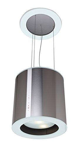 CATA Modelo Isla Moon  3 velocidades de extracción   Campana extractora Cocina 645m3/h-300m3/h   Acabado en Acero Inoxidable   [Clase de eficiencia energética C]