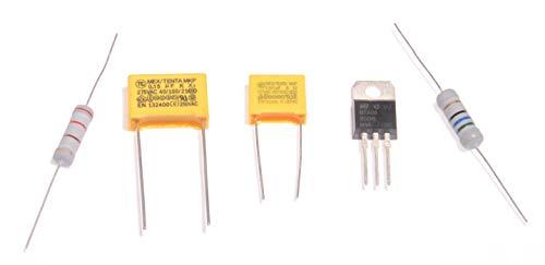 Mixer reparatieset (triac, weerstanden en condensatoren) voor Kenwood A901