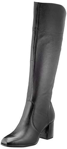 Tamaris Damen 1-1-25515-25 Kniehohe Stiefel, schwarz, 38 EU