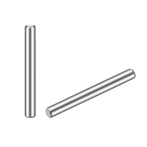 JPGhaha 20 piezas M6 Clavija Pasador Cilíndrico de Acero Inoxidable