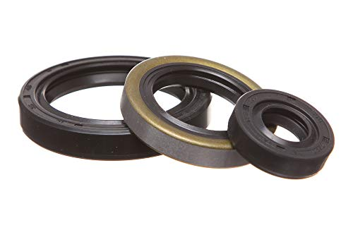 REPLACEMENTKITS.COM - Brand fits Polaris 1996-2013 400 & 500 Sportsman Scrambler Ranger & Magnum Engine Oil Seal Kit -