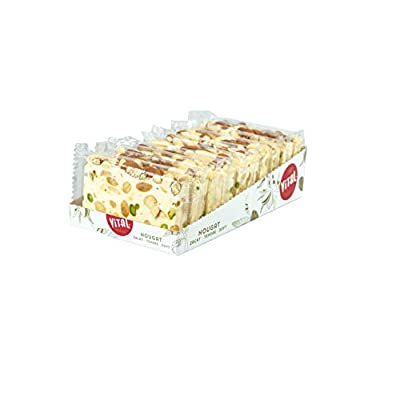a slice of heaven almond and pistachio nougat, 100g A Slice of Heaven Almond and Pistachio Nougat, 100g 31amid7QzyL
