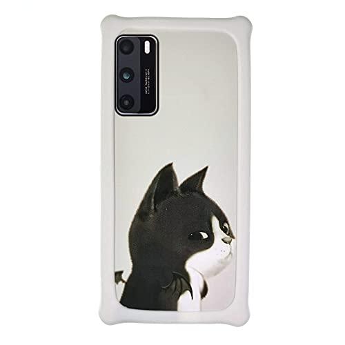 Sundekun Funda para Samsung SM-G935FD Galaxy S7 Edge Duos Funda Case Cover Carcasa para teléfono Hard Backplane + Marco de Silicona Suave PCEMM