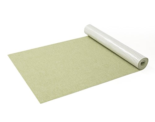 サンコー はっ水 消臭廊下敷きマット カーペット マット おくだけ吸着 ロングマット 60×200cm グリーン ...