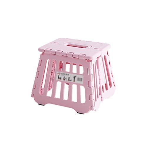 Tuinbank, kleine kruk voor kinderen, woonkamer, kruk, klaslok, inklapbare kruk, winkel, hocker Home Stool Roze