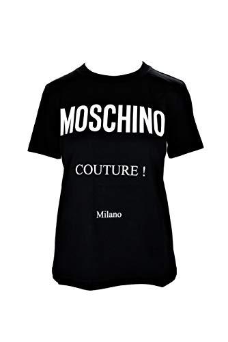 Moschino Couture! EA0703 2555 - Camiseta para mujer Negro 36