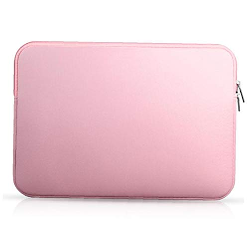 Caso Tablet Laptop Portatile Collision Avoidance Liner 15.6 Pollici Notbook Borsa Compatibile con iPhone Rosa