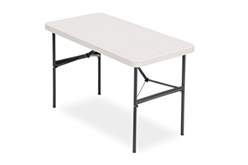 Iceberg 24' x 48' Folding Table, Platinum, IndestrucTable TOO 500 Series (MADE IN USA),65503