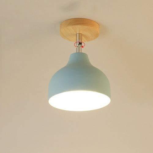 HDDD RNMQ creatieve kwaliteit van de ijzeren behuizing van de lamp van massief hout plafondlamp, Idillio, eenvoudige teller voor restaurants, kantoren, energiebesparend