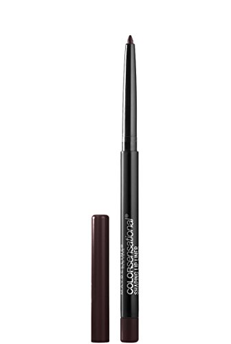 Maybelline New York Makeup Color Sensational Shaping Lip Liner, Rich Chocolate, Brown Lip Liner, 0.01 oz