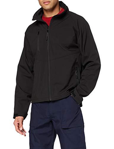 Result Unisex R128X Baselayer Softshell Jacke 3XL schwarz