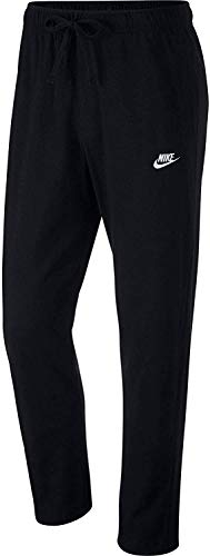 NIKE M NSW Club Pant Oh JSY Pantalones de Deporte, Hombre, Black/White, L