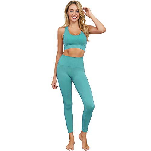 SYAyeah Blue Geometric Line Pattern Women Workout Yoga Shorts Tight Yoga Pants Tummy Control