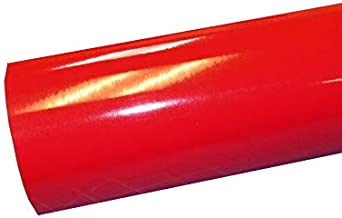 """12"""" x 10 Ft Roll of Glossy Oracal 651 Red Vinyl for Craft Cutters and Vinyl Sign Cutters"""