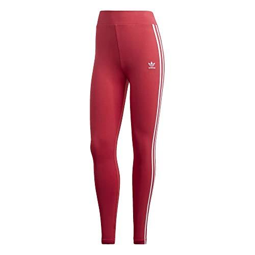 adidas 3 Stripes Tights Leggings (34, pink/white)