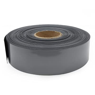 Manguito Cable,Organizador Cables Tubo de calor de batería de litio Tubo de litio Li-ion Wrap Funda PVC PVC Funda de aislamiento de manga de película encogida