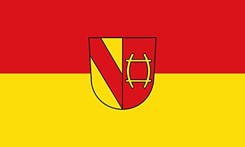 Unbekannt magFlags Tisch-Fahne/Tisch-Flagge: Rastatt 15x25cm inkl. Tisch-Ständer