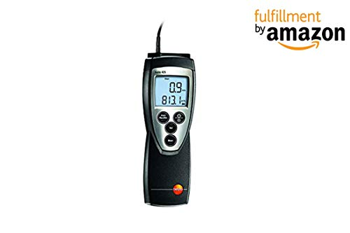 Testo 425 Air Velocity Meter with Thermal Flow Probe