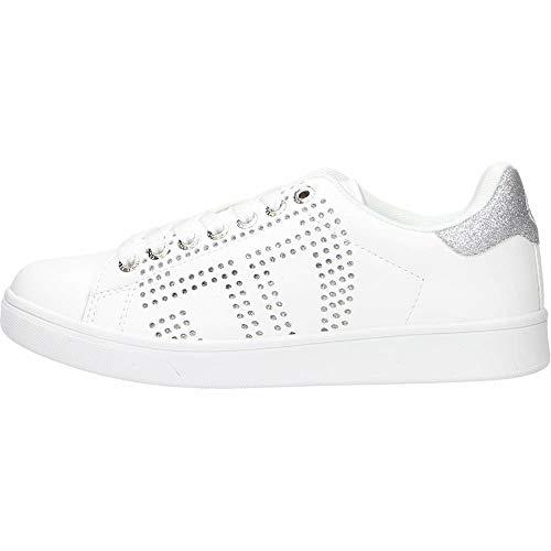 scarpe sergio tacchini donna Sergio Tacchini Gran Torino Essential LTX Sneaker da Donna White Silver STW114026 (Numeric_39)