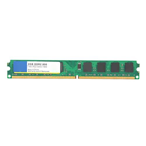 Memoria de computadora de Escritorio, DDR2 2GB 800Mhz PC2‑6400, Capacidad de Memoria Aumentada, Adecuada para computadoras de Escritorio