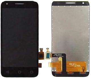 مجموعة كاملة من شاشة LCD ومحول رقمي من Lingland لهاتف Alcatel One Touch Pixi 3 4.5/4027 (أسود) .الهاتف الخليوي الخلفي يغطي...
