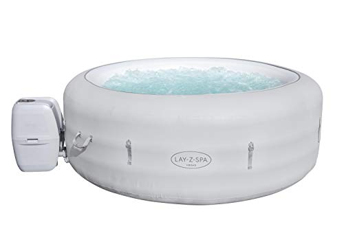 Lay-Z-Spa Vegas Hot Tub with 140 AirJet Massage System Inflatable Spa...
