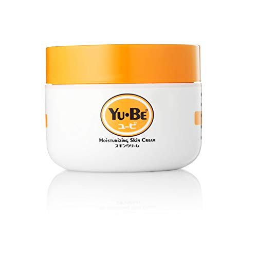 Yu-Be Jar Deeply Hydrating Paraben-Free Moisturizer for Extra-Dry Skin - Moisturizing and Healing Skin Cream for Day & Night, After Hand Washing, Cracked Heels & Elbows, All Over Body, and is Non-Greasy, and Vitamin-Enriched - 2.2 Fl Oz