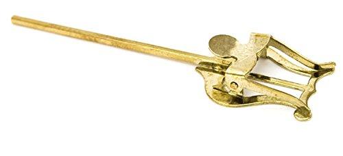 Brass-Fix UK Marschgabel, Notenblatt-Halterung für Kornett, Trompete, Flügelhorn, lackiert